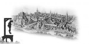 Bautzen_1650-Galgen