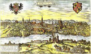 Görlitz von Osten 1575, Archiv