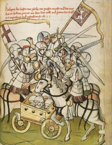 Hussitenschlacht, Archiv