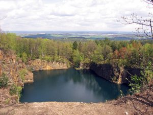 Thadenbruch Königshainer Berge. Foto: Oberlausitzerin64