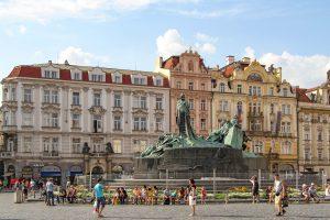 Prag, Denkmal Jan Hus