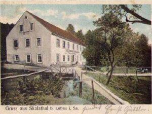 Gasthaus Ansichtskarte vor 1920